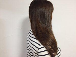 レプロナイザー3DPLUSで乾かした髪