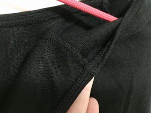 ピースフィット 縫い目