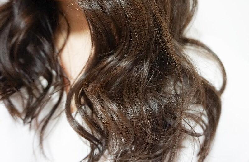 クレイツ カールプロで巻いた髪の毛