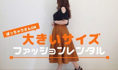 大きいサイズの洋服レンタルサービス