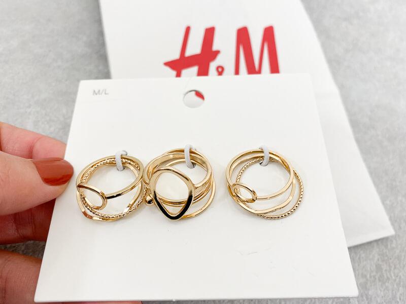 H&M ゴールドの指輪