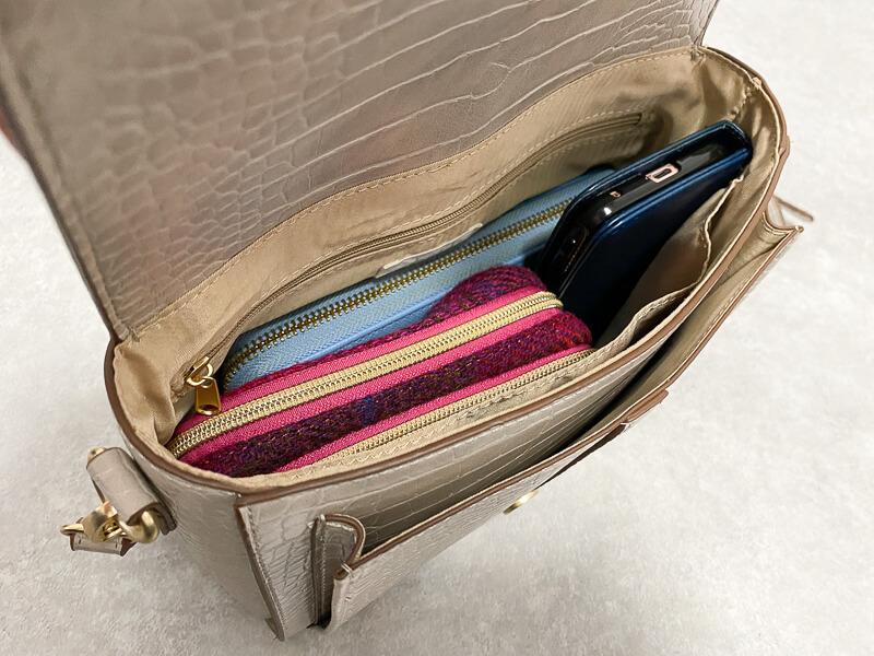 プチプラのあやバッグ 中身の容量