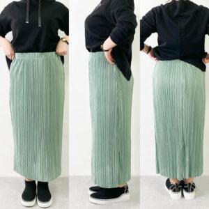 GU プリーツスカート サイズ感