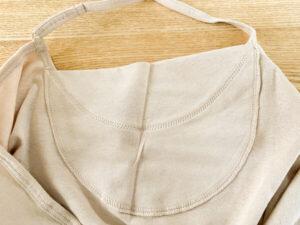 綿でさらっとインナー 汗取りパッド