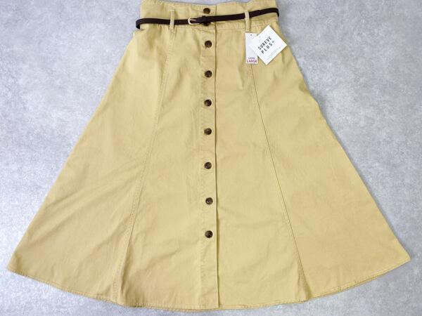 アベイル スカート 大きいサイズ