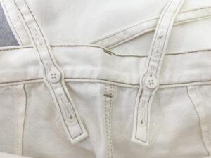 GU ホワイトデニム 肩紐