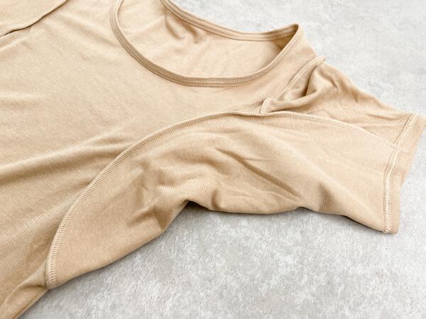 ベルメゾン 汗取りインナー 背中二重 超大汗さん 汗取り部分