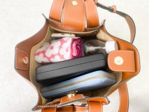 VIS フロントタイバッグ かばんの中身