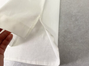 ロゴT 裾