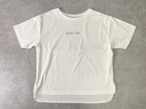 大きいサイズ ロゴTシャツ
