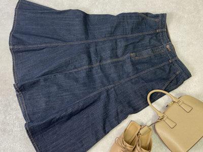 GU デニムマーメイドスカート