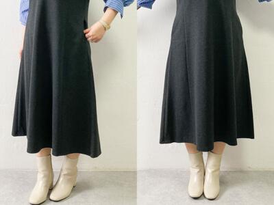 ユニクロ ジャンパースカート スカート部分が可愛い
